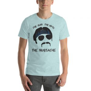 The Man, The Myth, The Minshew Short-Sleeve Unisex T-Shirt